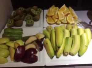 オーロラ朝食3