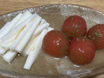 山芋トマト漬け