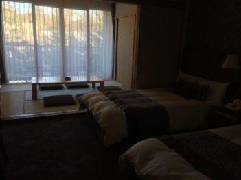 ホテルハーベスト和洋室