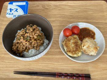 キムチ大葉納豆
