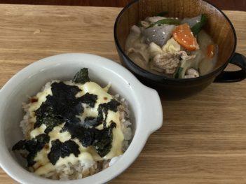 チーズ海苔ご飯
