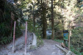 琵琶滝と6号路