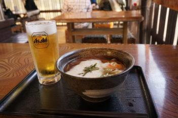 そば&ビール