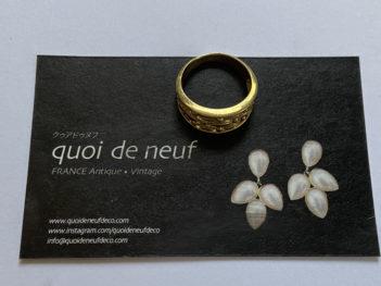 真鍮指輪2