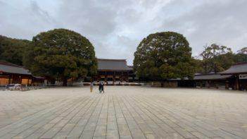 本殿前広場