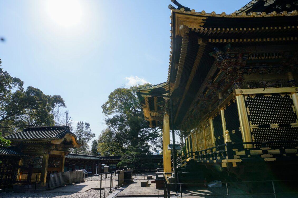 社殿と唐門