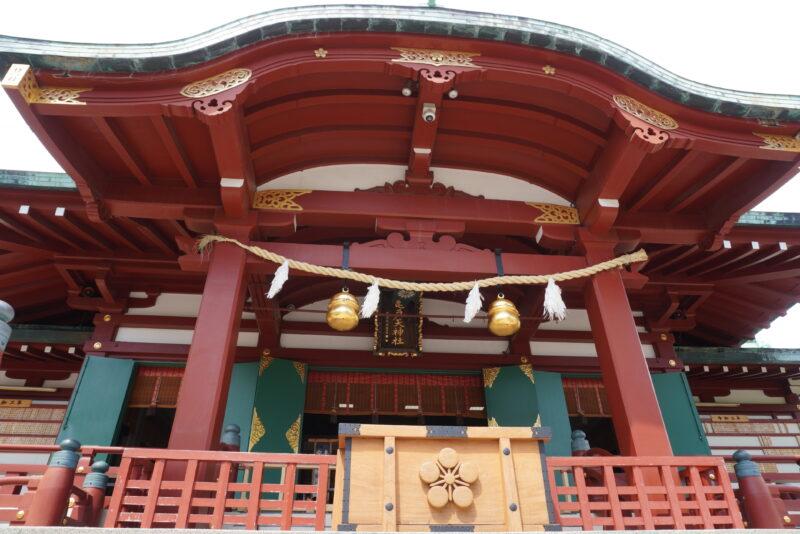 亀戸天神社殿