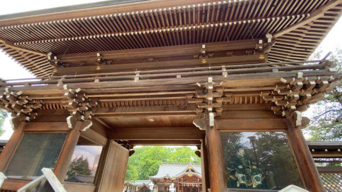 立川諏訪神社山門